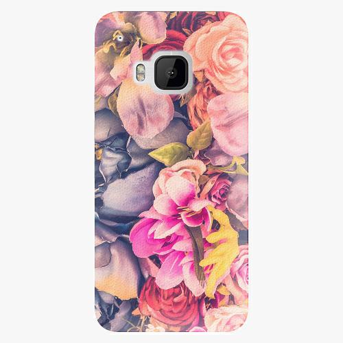 Plastový kryt iSaprio - Beauty Flowers - HTC One M9