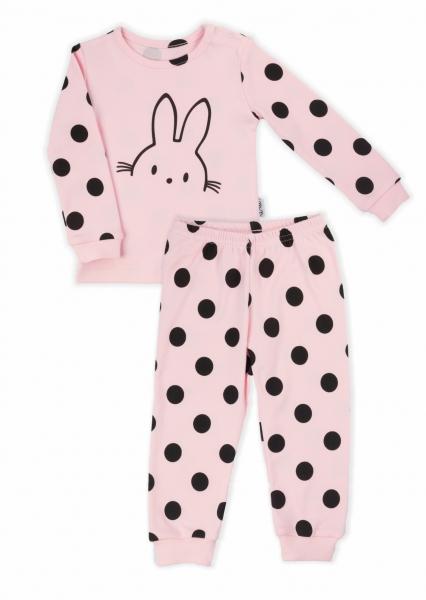nicol-detske-pyzamo-nicol-bunny-puntik-svetle-ruzove-86-12-18m
