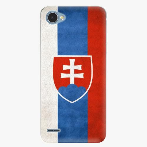 Plastový kryt iSaprio - Slovakia Flag - LG Q6