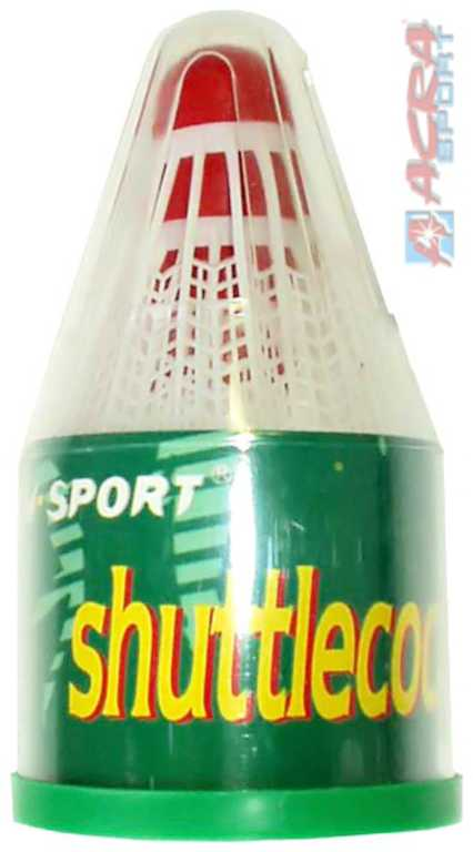 ACRA Košík plastový na badminton