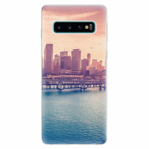 Silikonové pouzdro iSaprio - Morning in a City - Samsung Galaxy S10