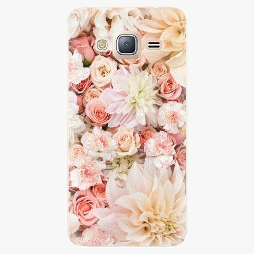 Plastový kryt iSaprio - Flower Pattern 06 - Samsung Galaxy J3