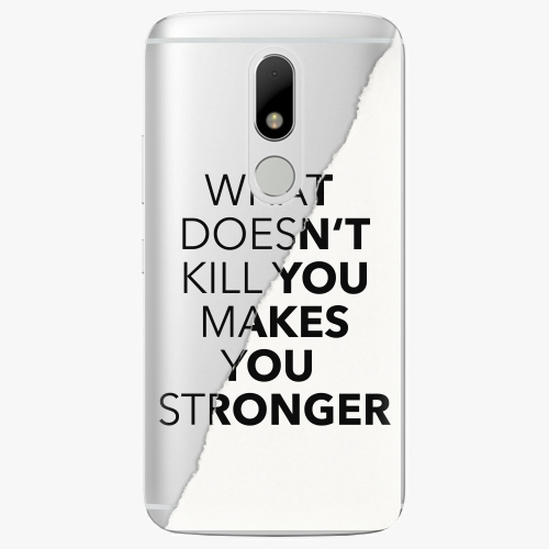 Plastový kryt iSaprio - Makes You Stronger - Lenovo Moto M