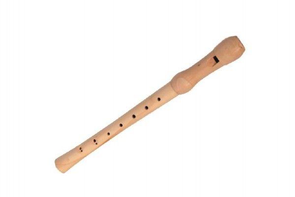 Flétna dřevo 32 cm v krabičce 34 x 4 x 4 cm
