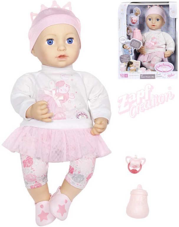 ZAPF Baby Annabell Panenka Mia Sladké sny set miminko s doplňky
