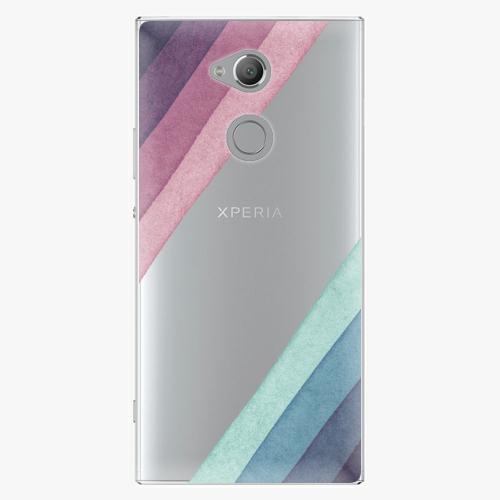 Plastový kryt iSaprio - Glitter Stripes 01 - Sony Xperia XA2 Ultra