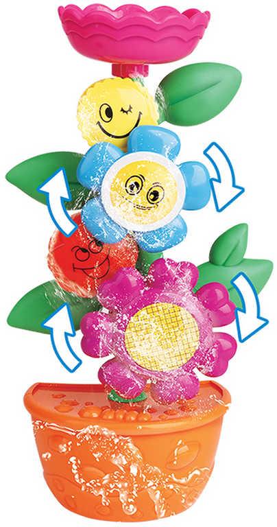 Baby květina do vany herní set s konvičkou do vany pro miminko
