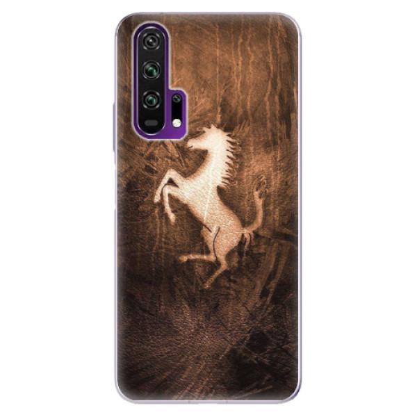 Odolné silikonové pouzdro iSaprio - Vintage Horse - Honor 20 Pro