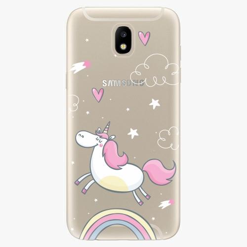 Silikonové pouzdro iSaprio - Unicorn 01 - Samsung Galaxy J5 2017