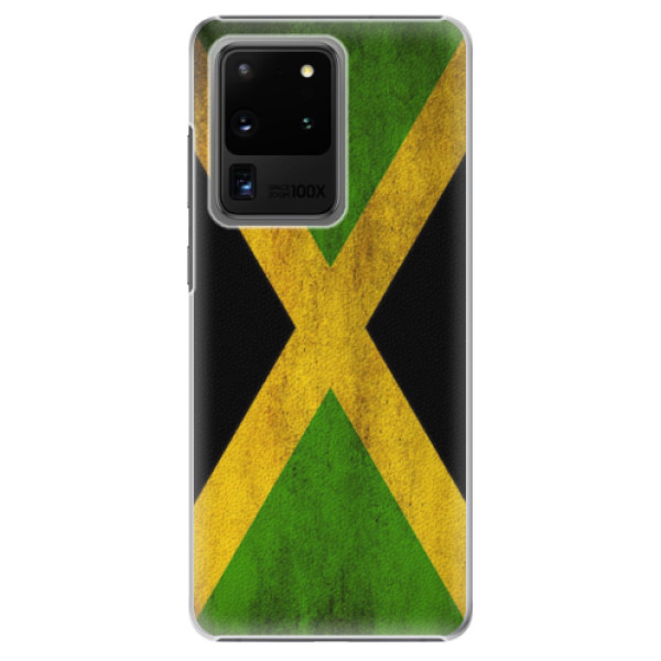 Plastové pouzdro iSaprio - Flag of Jamaica - Samsung Galaxy S20 Ultra