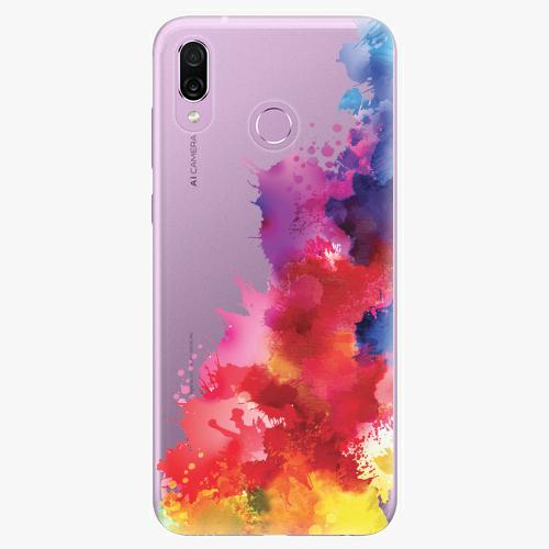 Silikonové pouzdro iSaprio - Color Splash 01 - Huawei Honor Play