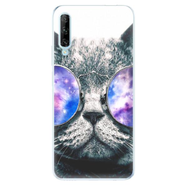 Odolné silikonové pouzdro iSaprio - Galaxy Cat - Huawei P Smart Pro