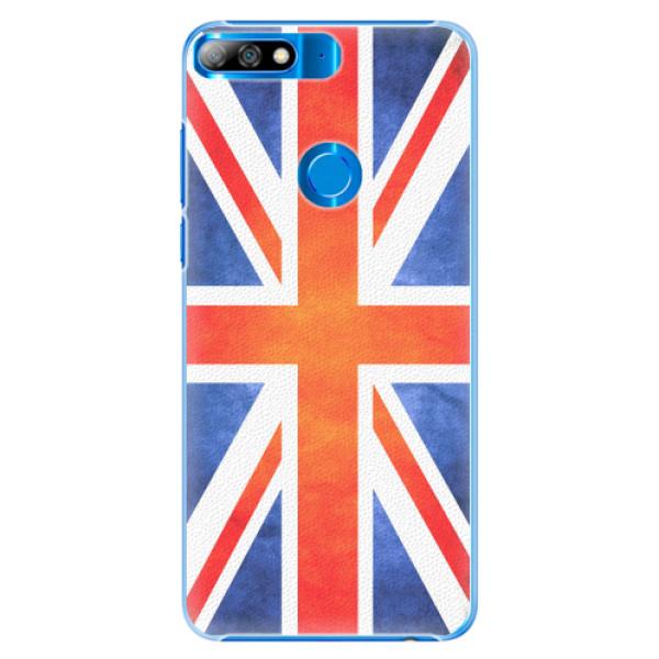 Plastové pouzdro iSaprio - UK Flag - Huawei Y7 Prime 2018