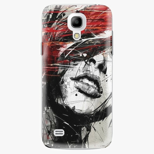 Plastový kryt iSaprio - Sketch Face - Samsung Galaxy S4 Mini