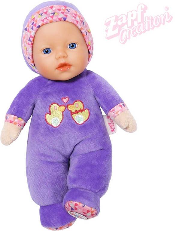 ZAPF BABY BORN Panenka miminko mazlíček 26cm s chrastítkem pro miminko