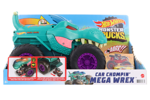 Hot Wheels Monster Trucks Nebezpečný W-Rex TV 1.10.-31.12.2021