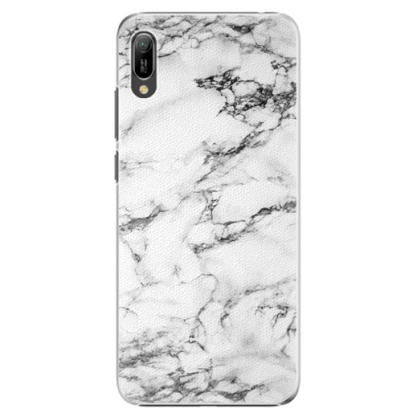 Plastové pouzdro iSaprio - White Marble 01 - Huawei Y6 2019
