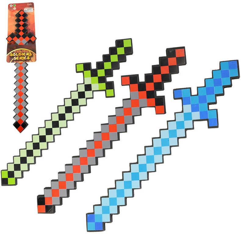 Meč softový pěnový 45cm malý rytíř různé barvy