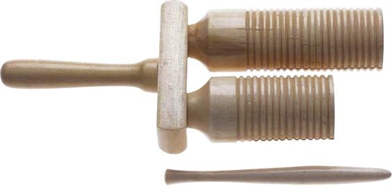 Stagg AGG-55, dřevěné dvoutónové Agogo