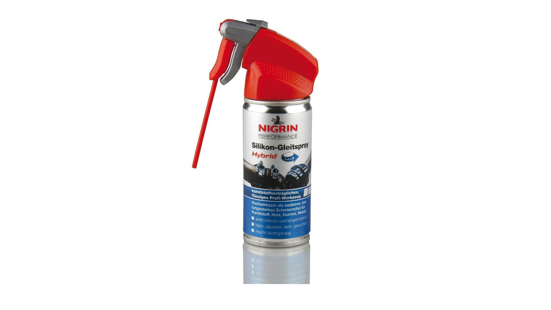 NIGRIN Silicone Oil Spray 100ml HyBrid