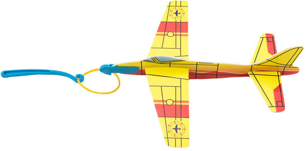 Letadlo soft pěnové vystřelovací vojenské 18cm bombardér 4 druhy