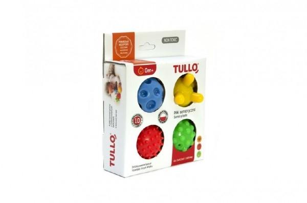 Balonky stimulační gumové 5cm 4ks v krabici 15x19x5cm