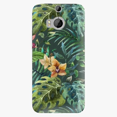 Plastový kryt iSaprio - Tropical Green 02 - HTC One M8