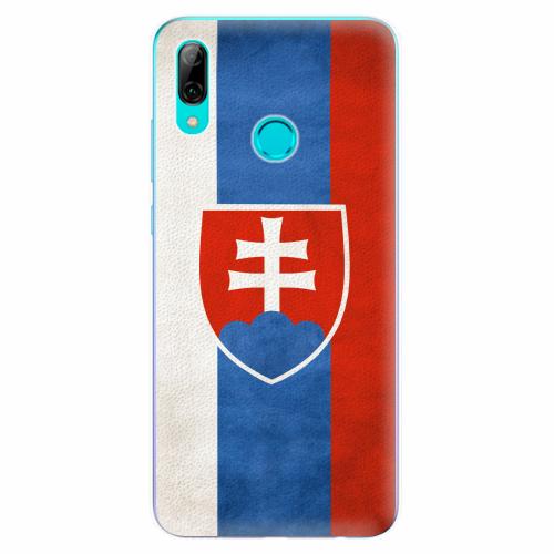 Silikonové pouzdro iSaprio - Slovakia Flag - Huawei P Smart 2019