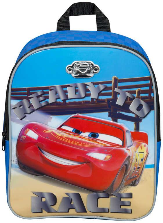 Batůžek dětský Cars 3 (Auta) 3D pro kluky 32x26x10cm