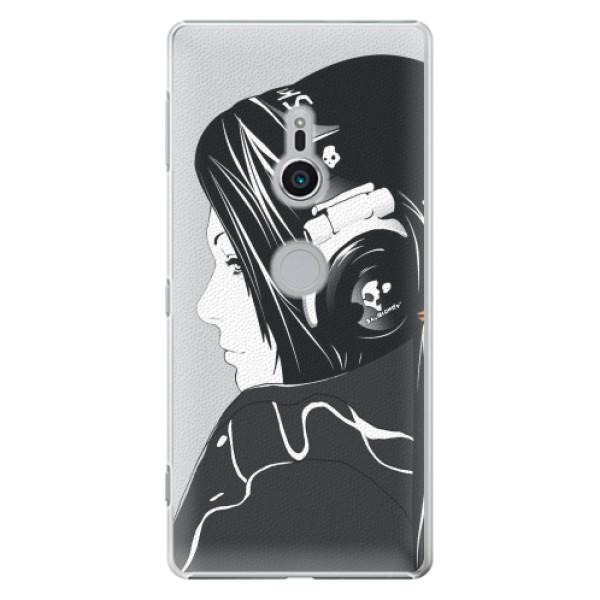 Plastové pouzdro iSaprio - Headphones - Sony Xperia XZ2