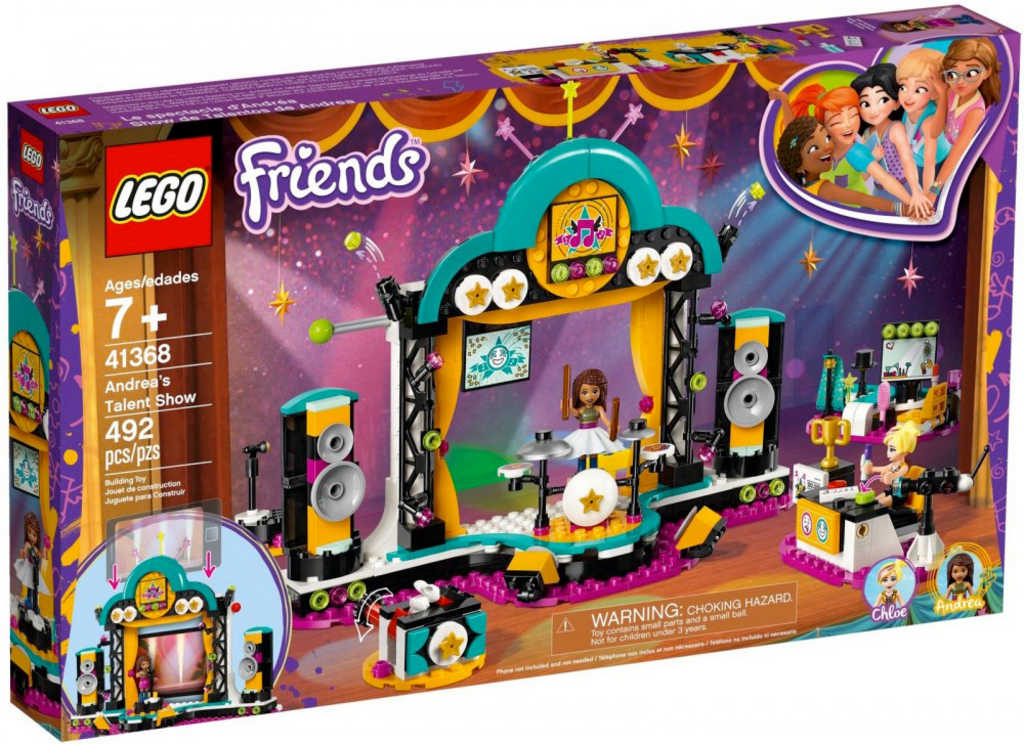 LEGO FRIENDS Andrea a talentová show 41368
