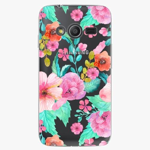 Plastový kryt iSaprio - Flower Pattern 01 - Samsung Galaxy Trend 2 Lite