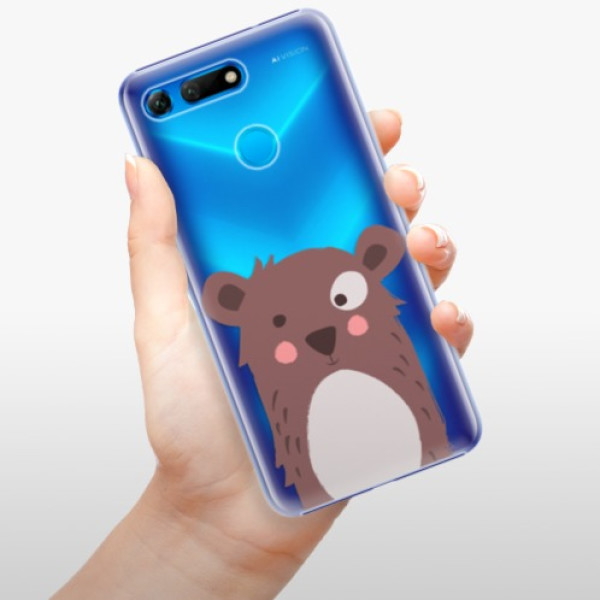 Plastové pouzdro iSaprio - Brown Bear - Huawei Honor View 20
