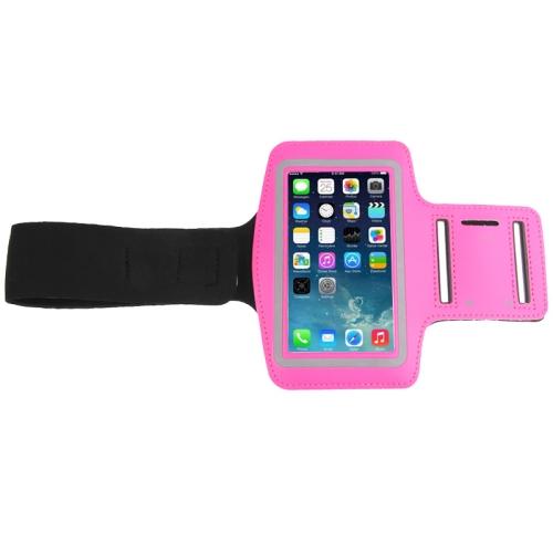 Sportovní pouzdro pro iPhone 6 / 6S / Samsung Galaxy S3 / S4 / S5 růžová