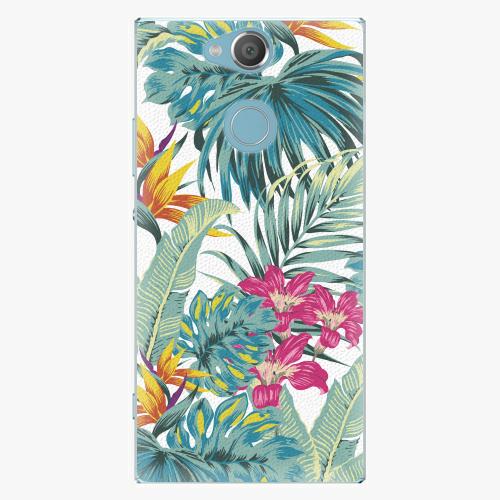Plastový kryt iSaprio - Tropical White 03 - Sony Xperia XA2