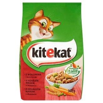 Granule pro kočky s hovězím masem a zeleninou 300 g