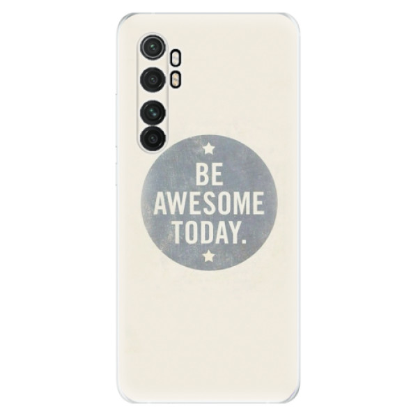 Odolné silikonové pouzdro iSaprio - Awesome 02 - Xiaomi Mi Note 10 Lite