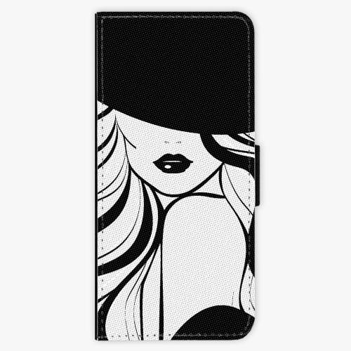 Flipové pouzdro iSaprio - First Lady - Samsung Galaxy Note 8