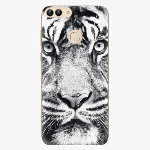 Silikonové pouzdro iSaprio - Tiger Face - Huawei P Smart