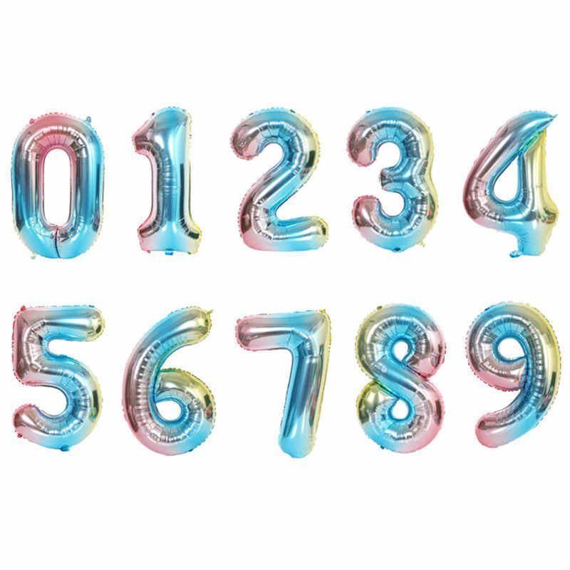 Nafukovací balónky čísla - 4