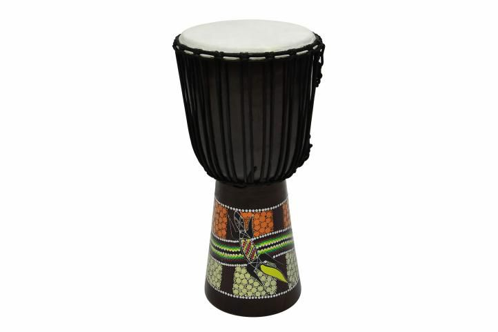 Buben na bubnování, kozina 60 cm Časžít