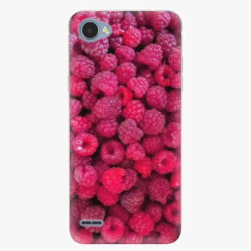 Plastový kryt iSaprio - Raspberry - LG Q6