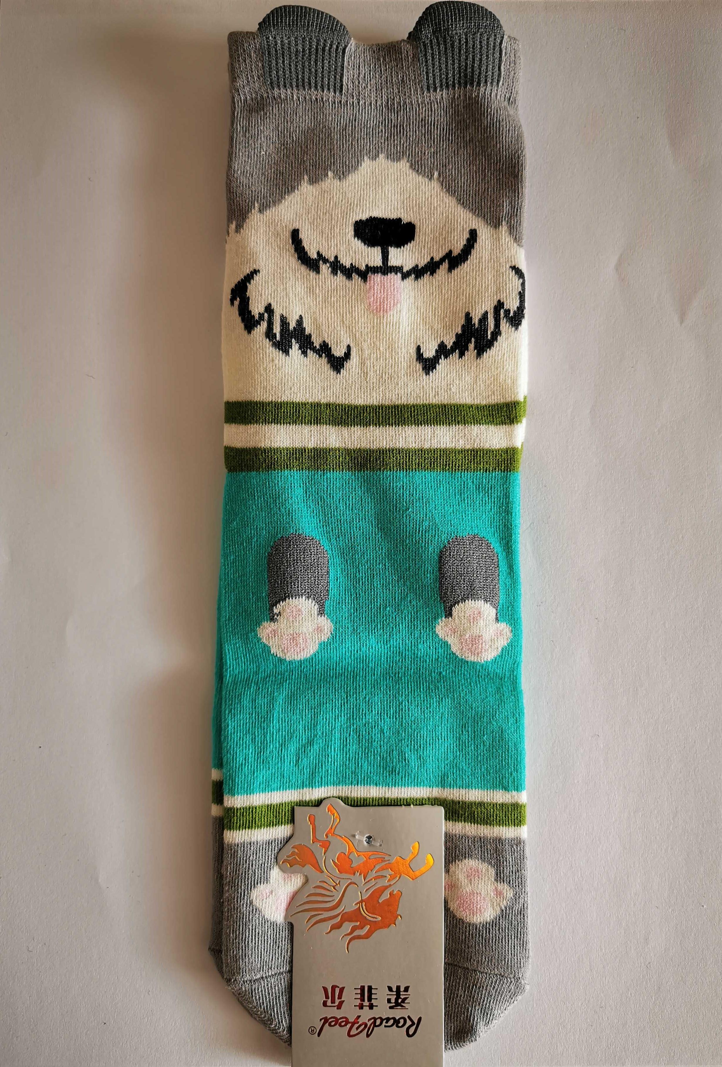 Ponožky s motivem zvířátek - Pejsek - vzor 3