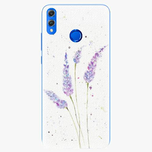 Silikonové pouzdro iSaprio - Lavender - Huawei Honor 8X