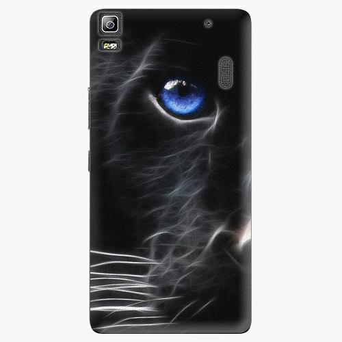 Plastový kryt iSaprio - Black Puma - Lenovo A7000