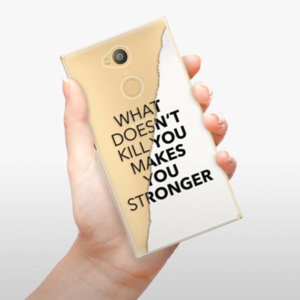 Plastové pouzdro iSaprio - Makes You Stronger - Sony Xperia L2