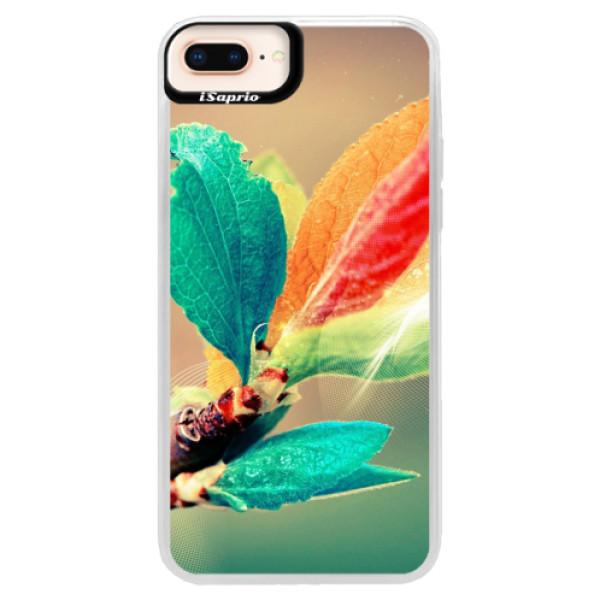 Neonové pouzdro Pink iSaprio - Autumn 02 - iPhone 8 Plus