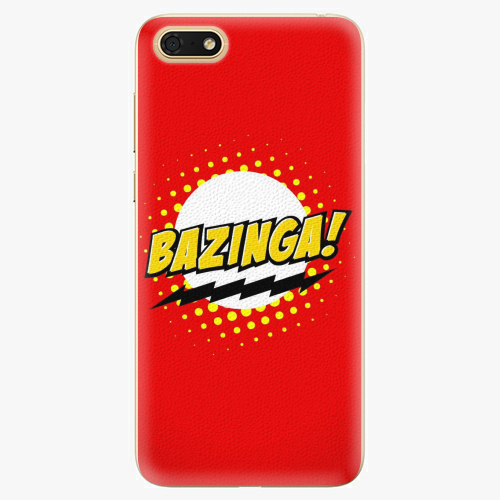 Plastový kryt iSaprio - Bazinga 01 - Huawei Honor 7S