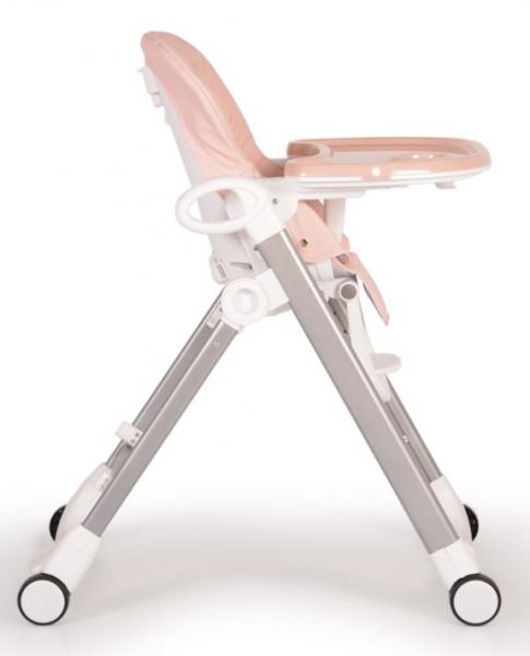 Cangaroo Dětská jídelní židlička Brunch - růžová