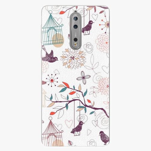 Plastový kryt iSaprio - Birds - Nokia 8
